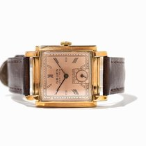 Gruen Veri Thin Watch made of Gilded Stainless Steel
