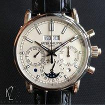 Patek Philippe 5204P Split Seconds Chronograph Platinum White...