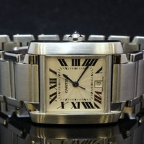 Cartier Large Tank Francaise Automatic, Stainless Steel