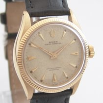 "Rolex Oyster Perpetual ""Honeycomb"" 750 Gold"