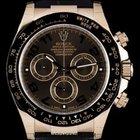 Rolex 18k Rose Gold Unworn O/P Ceramic Bezel Daytona B&...