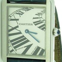 Cartier Tank Solo Ref. 2715 Boutique Model Rare Dial Ladies...