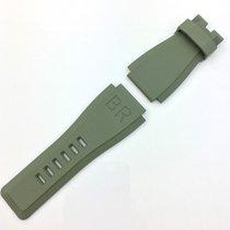 Bell & Ross Uhren Armband BR 01 - 03 Kautschuck  Gr. XS Khaki