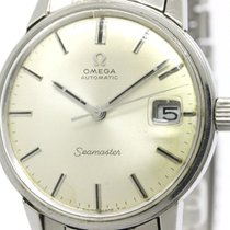 Omega Vintage Omega Seamaster Date Steel Automatic Mens Watch...