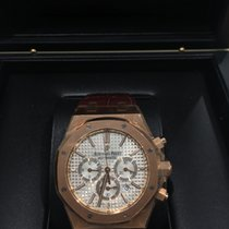 Audemars Piguet Royal Oak 18k Rose Gold Chronograph UNWORN 2016