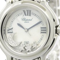 ショパール (Chopard) Polished Chopard Happy Sport Diamond Mop Dial...