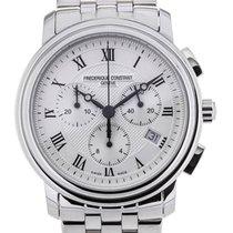 Frederique Constant Classics Chronograph 40 Guilloche Dial...
