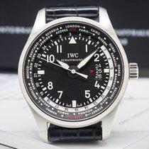 IWC IW326201 Pilot WorldTimer SS Black Dial (25027)