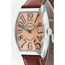 Franck Muller Casablanca 6850 Steel , Leather, 34mm