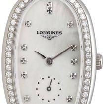 Longines Symphonette Medium Steel & Diamond Womens Strap...