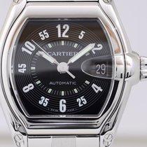 Cartier Roadster Stahl black dial Edelstahlarmband Automatik...