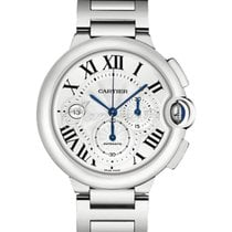 Cartier W6920002 BALLON BLEU DE 44mm STAINLESS STEEL 2017