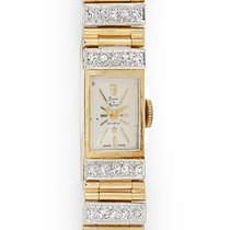 Baume & Mercier Vintage Ladies 14k Yellow Gold &...
