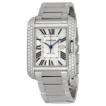 Cartier- Tank Anglaise Großes Modell, Ref. WT100009