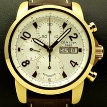 Certina Chronograph 18 kt pink gold, new, special price