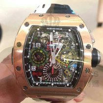 Richard Mille RM11-02 ROSE GOLD FLYBACK CHRONOGRAPH DUAL TIME...