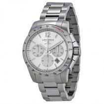 Longines Men's L27434766 Conquest Chronograph Watch