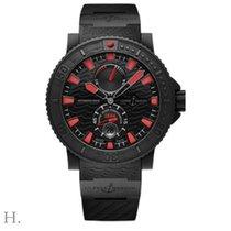 Ulysse Nardin Marine 46 Black Sea Red Index