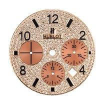 Hublot Big Bang 44mm Rose Gold Diamond Pave Custom Dial