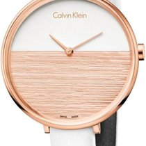 ck Calvin Klein RISE K7A236LH Damenarmbanduhr Swiss Made