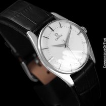 Omega 1958 Vintage Mens Dress Watch - Stainless Steel -...