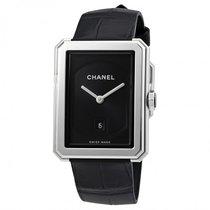 Chanel H4884 Black Dial Boy-Friend Steel Ladies Watch