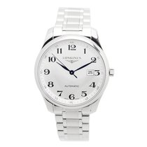 Longines Master Stainless Steel White Automatic L2.893.4.78.6