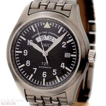 IWC Fliegeruhr UTC Ref-IW3251 Stainless Steel Box Papers Bj-2003