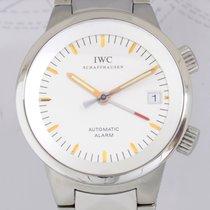 IWC Aquatimer Alarm white Dial Stahl Taucheruhr Klassiker Cal...