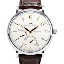 IWC Schaffhausen IW510103 Portofino Hand-Wound Eight Days...