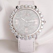 Montega Pave Diamond Dial & Bezel 18K White Gold