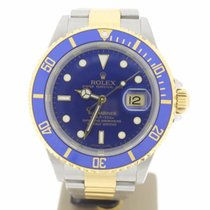 Rolex Submariner Date Steel/Gold BlueDial (BOX2005) MINT 40mm