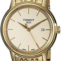 Tissot Carson Champagne Dial Goldtone Stainless Steel Men'...