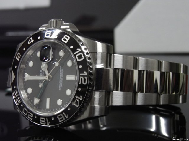 Rolex GMT-MASTER II 116710LN 40mm Steel Unused 2013