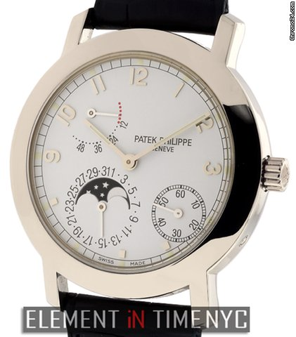 Patek Philippe Complications Moonphase Power Reserve 5055G B+P