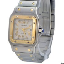 Cartier Santos Galbee 2319 2-Tone 18k and Steel