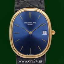 Patek Philippe Ellipse Date 3788 Sigma Dial 18k Yellow Gold