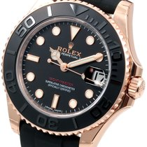 勞力士 (Rolex) Midsize 18K Everose Gold Yachtmaster Oysterflex...
