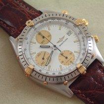 Breitling Chronomat Stahl / Gold mit Krokoband Der Klassiker...