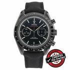 "Omega Speedmaster Moonwatch Co-Axial Chronograph ""Dark..."