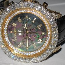 Breitling Bentley 6.75 18K Solid Gold Diamond Automatic