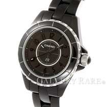 Chanel J12 Intense Black Ceramic 29MM Ladies Wristwatch...