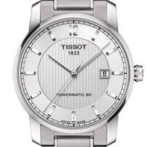 Tissot Titanium Automatic Gent Silver Dial 40mm T