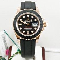 Rolex 40mm  18k Rose Gold Yachtmaster 116655 Ceramic Bezel