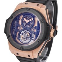 Hublot King Power 48mm Manufacture Tourbillon in Rose Gold