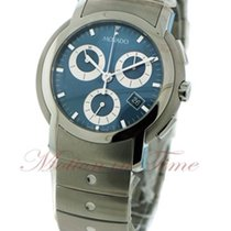 Movado S.L. Men's, Blue Chronograph Dial - Stainless Steel...