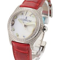 Corum 039.153.69 Mid Size White Gold Bubble - White Gold with...