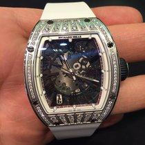 Richard Mille [NEW] RM 023 White Gold Med Set Diamonds(Retail:...