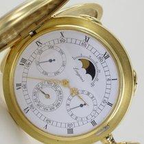 Longines Vollkalender Mondphase 18K Pocket Watch 280 Gramm
