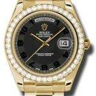 Rolex Day-Date II President Yellow Gold - Diamond Bezel 218348...